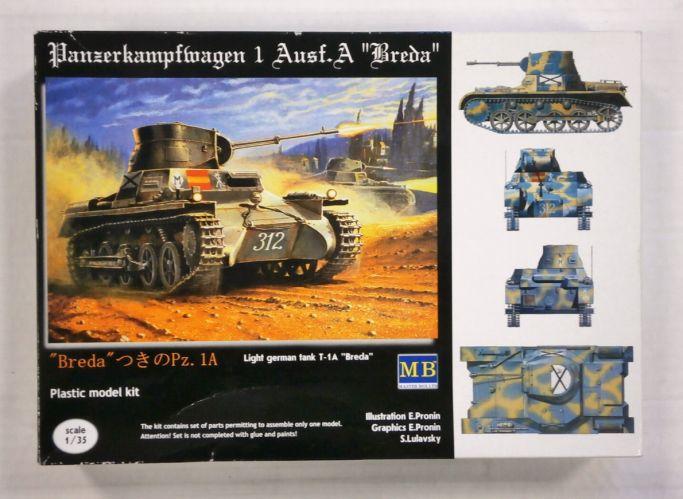 MASTERBOX 1/35 3503 PANZERKAMPFWAGON 1 Ausf.A BREDA