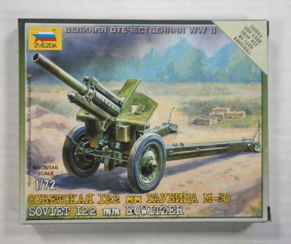 ZVEZDA 1/72 6122 SOVIET I22 mm HOWITZER