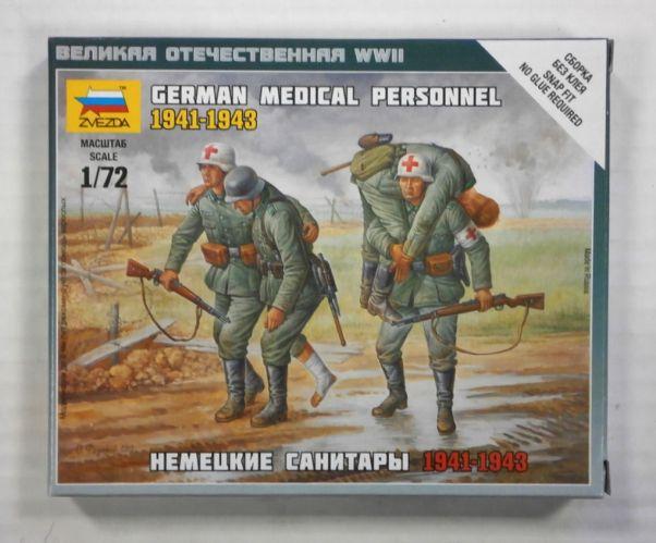 ZVEZDA 1/72 6143 GERMAN MEDICAL PERSONNEL