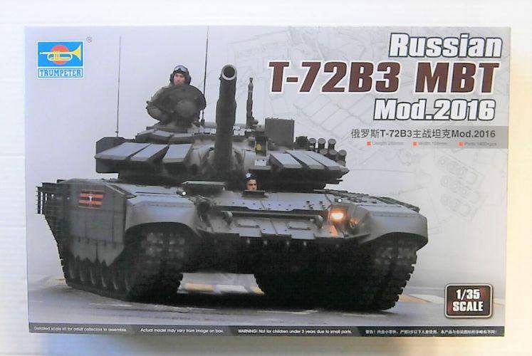 TRUMPETER 1/35 09561 RUSSIAN T-72B3 MBT MOD.2016
