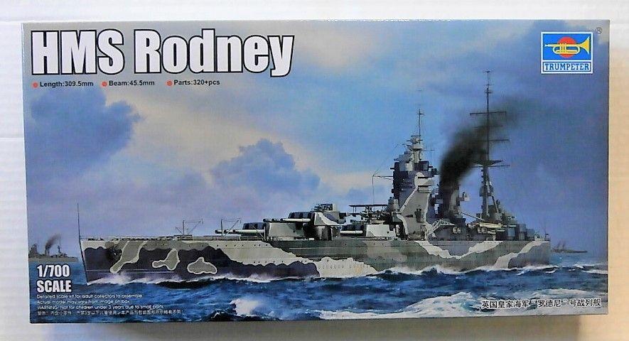 TRUMPETER 1/700 06718 HMS RODNEY