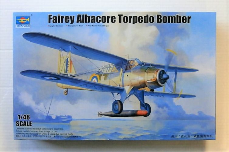 TRUMPETER 1/48 02880 FAIRY ALBACORE TORPEDO BOMBER