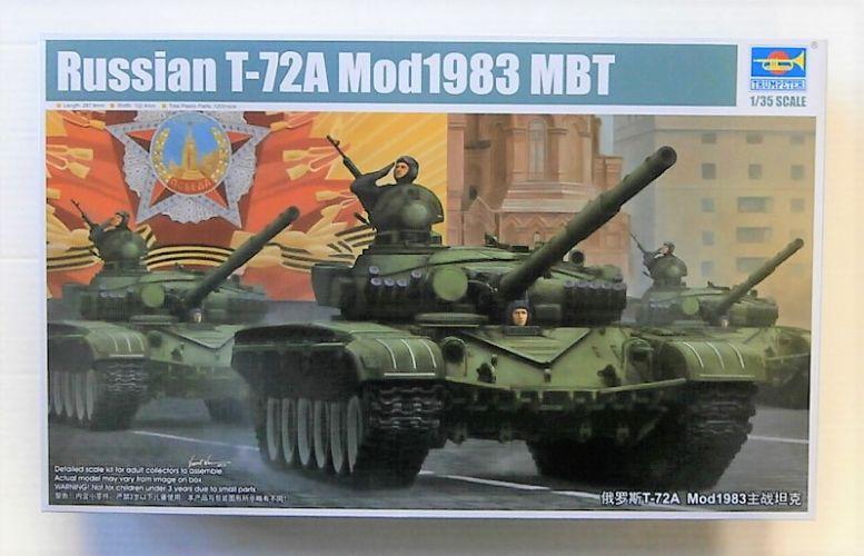 TRUMPETER 1/35 09547 RUSSIAN T-72A MOD.1983 MBT