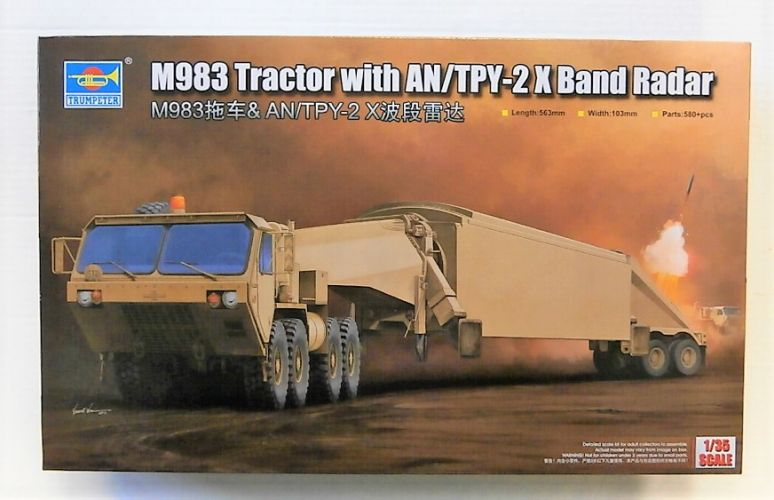 TRUMPETER 1/35 01509 M983 TRACTOR WITH AN/TPY-2 X BAND RADAR  UK SALE ONLY