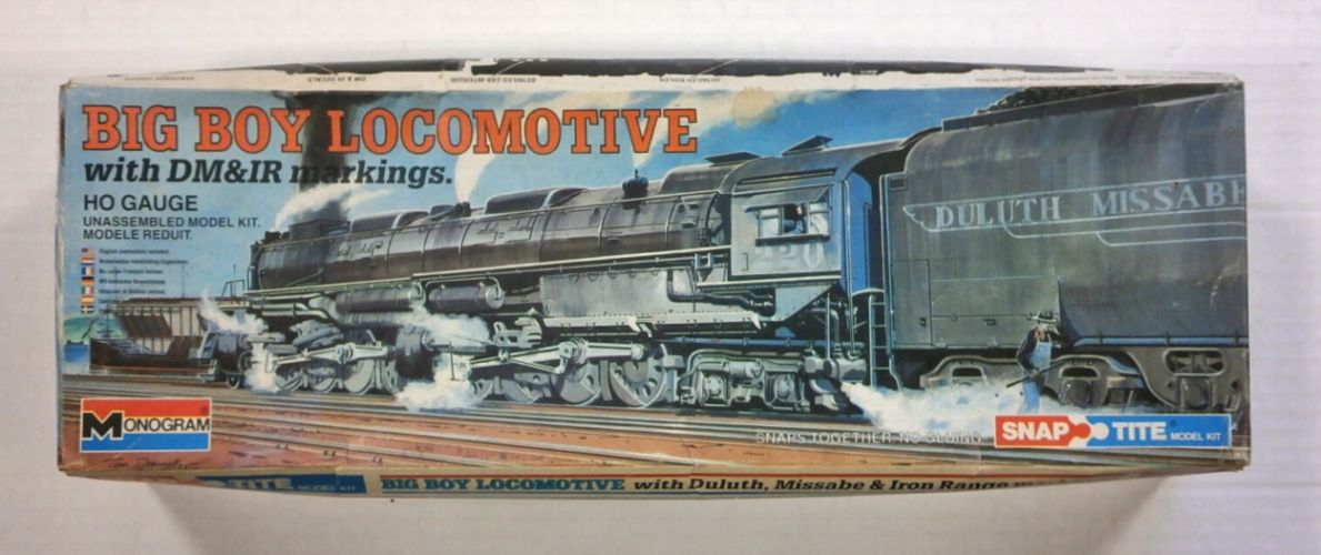 MONOGRAM HO 1602 BIG BOY LOCOMOTIVE WITH DULUTH MISSABE   IRON RANGE MARKINGS