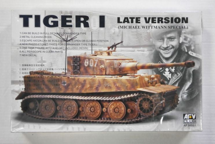 AFV CLUB 1/35 35S27 TIGER I LATE VERSION  MICHAEL WITTMANN SPECIAL