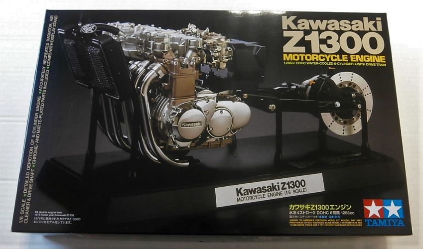 TAMIYA 1/6 16023 KAWASAKI Z1300 MOTORCYCLE ENGINE