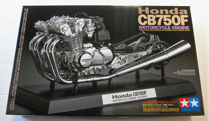 TAMIYA 1/6 16024 HONDA CB750F MOTORCYCLE ENGINE