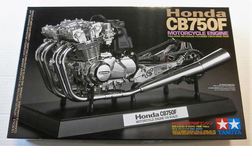 TAMIYA 1/6 16024 HONDA CB750F MOTORCYCLE ENGINE