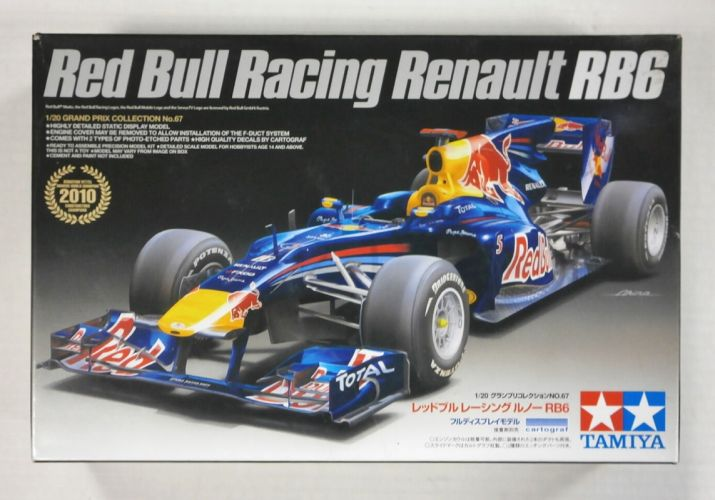 TAMIYA 1/20 20067 RED BULL RACING RENAULT RB6