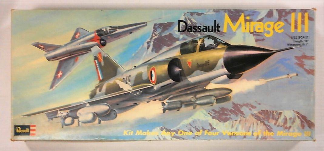 REVELL 1/32 H-185 DASSAULT MIRAGE III