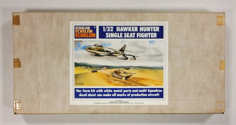 ECHELON 1/32 HAWKER HUNTER SINGLE SEAT FIGHTER