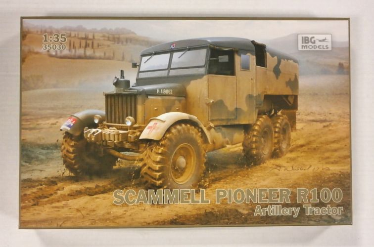 IBG MODELS 1/35 35030 SCAMMELL PIONEER R100 ARTILLERY TRACTOR
