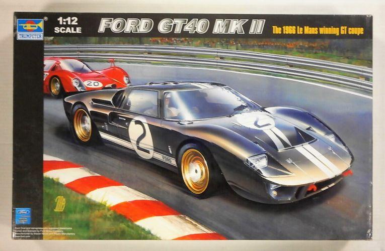 TRUMPETER 1/12 05403 FORD GT40 MK II 1966 LE MANS WINNER  UK SALE ONLY
