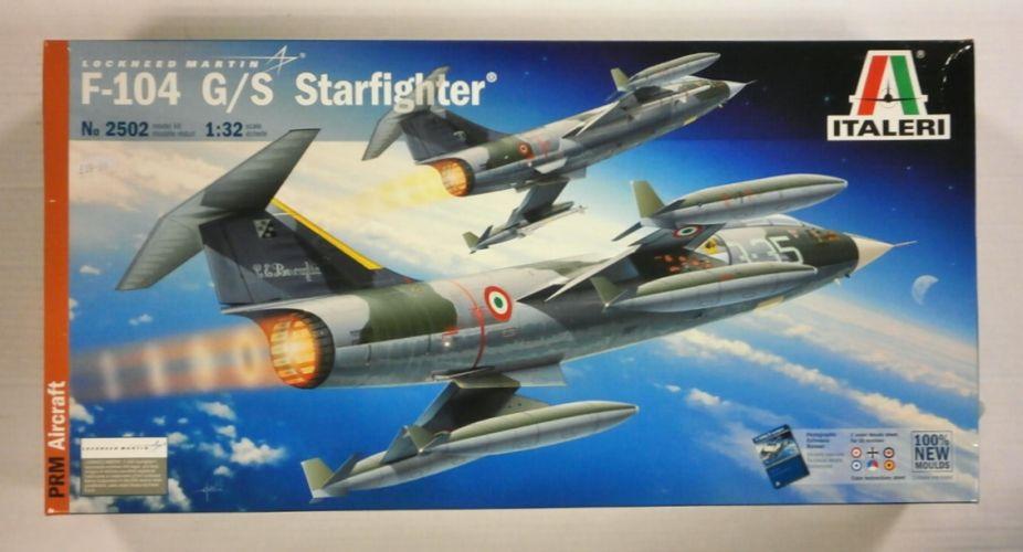ITALERI 1/32 2502 LOCKHEED MARTIN F-104 G/S STARFIGHTER