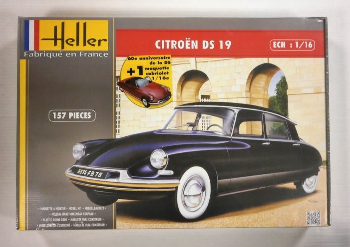 HELLER 1/16 85795 CITROEN DS 19 60th ANNIVERSARY  UK SALE ONLY