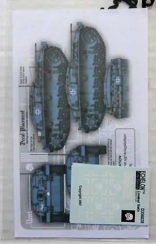 ECHELON 1/35 1983. D356028 STURMGESCHUTZ ABTEILUNG TOTENKOPF StuG III Ausf C Ds IN RUSSIA