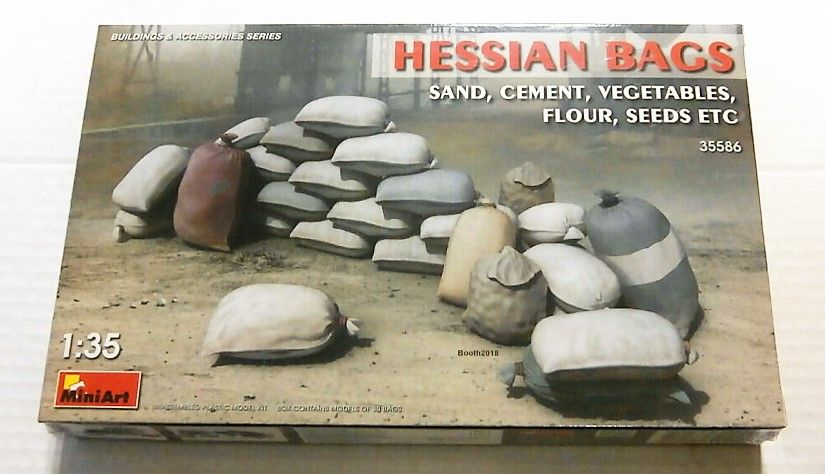 MINIART 1/35 35586 HESSIAN BAGS