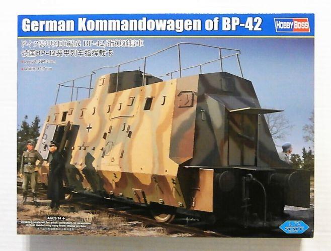 HOBBYBOSS 1/72 82924 GERMAN KOMMANDOWAGEN OF BP-42