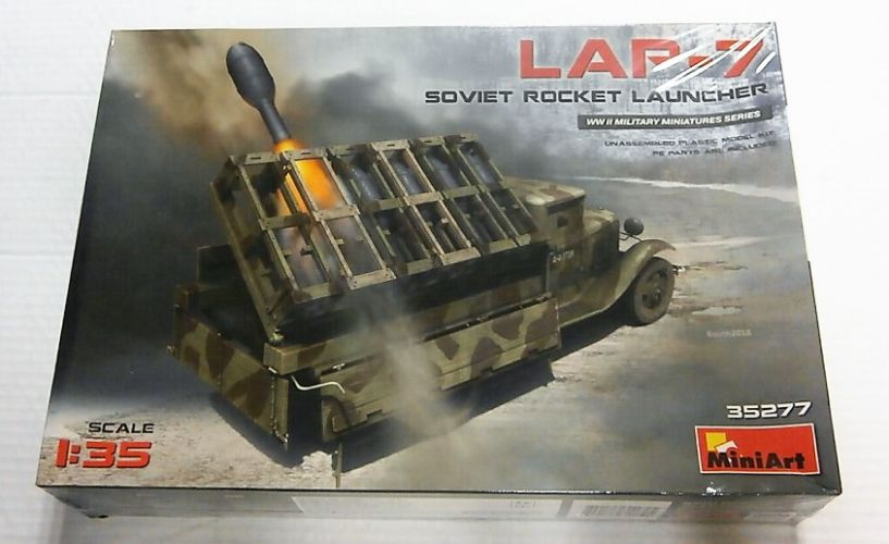 MINIART 1/35 35277 LAP-7 SOVIET ROCKET LAUNCHER
