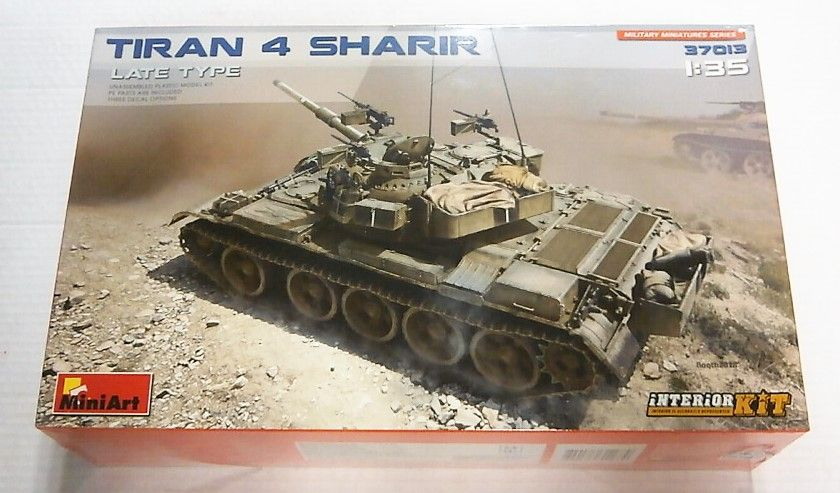 MINIART 1/35 37013 TIRAN 4 SHARIR LATE TYPE  INTERIOR KIT