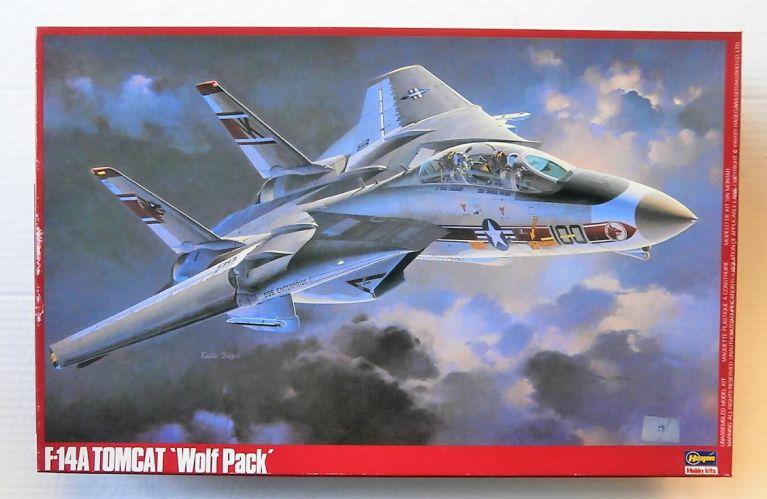 HASEGAWA 1/48 P20 F-14A TOMCAT WOLFPACK