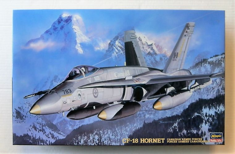 HASEGAWA 1/48 SP98 CF-18 HORNET CANADIAN ARMED FORCES
