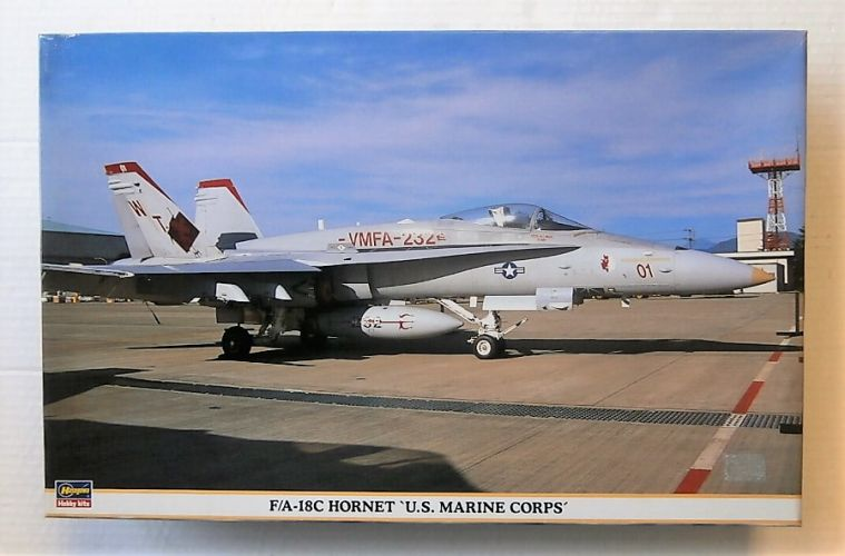HASEGAWA 1/48 09359 F/A-18C HORNET U.S. MARINE CORPS