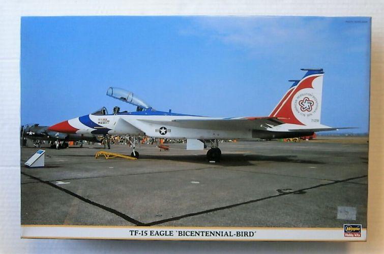 HASEGAWA 1/48 09367 TF-15 EAGLE BICENTENNIAL-BIRD