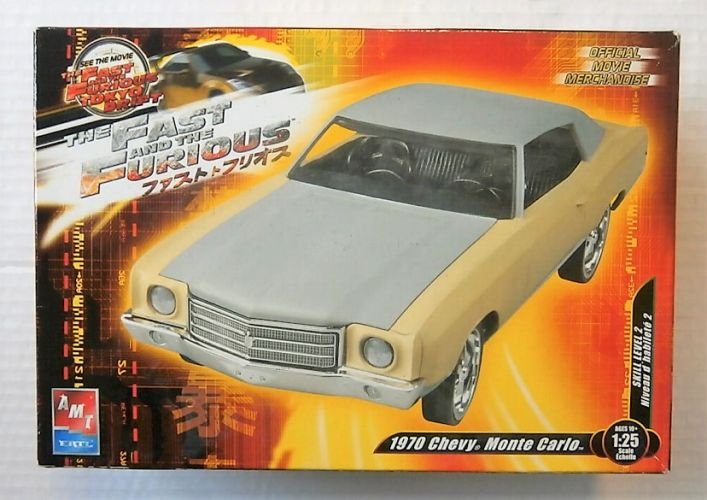 AMT 1/25 38510 THE FAST AND THE FURIOUS 1970 CHEVY MONTE CARLO
