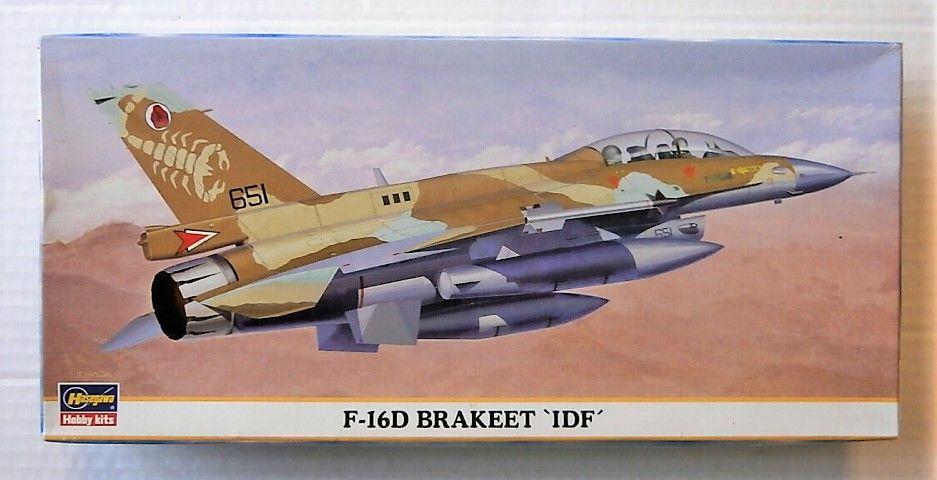 HASEGAWA 1/72 00174 F-16D BRAKEET IDF