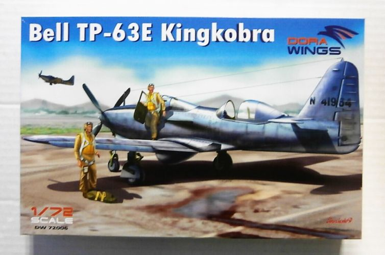 DORA WINGS 1/72 72006 BELL TP-63E KINGCOBRA