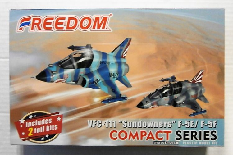 FREEDOM MODELS  162707 VFC-111 SUNDOWNERS F-5E AND F-5F  COMPACT SERIES