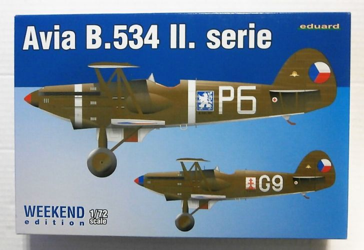 EDUARD 1/72 7448 AVIA B.534 II .SERIE WEEKEND EDITION