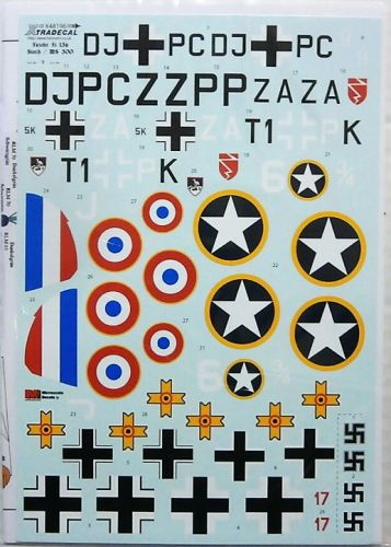 XTRADECAL 1/48 48196 FIESELER Fi 56 STORCH AND MS 500