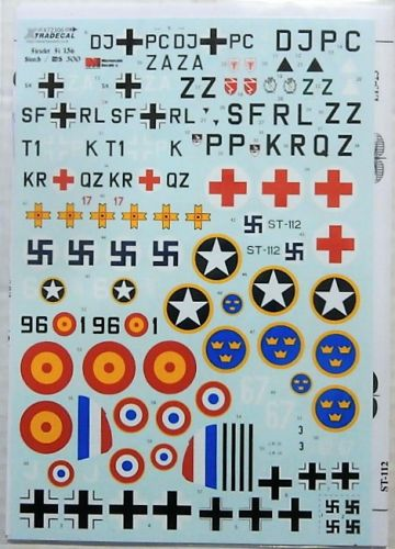 XTRADECAL 1/72 72306 FIESELER Fi 156 STORCH AND MS 500