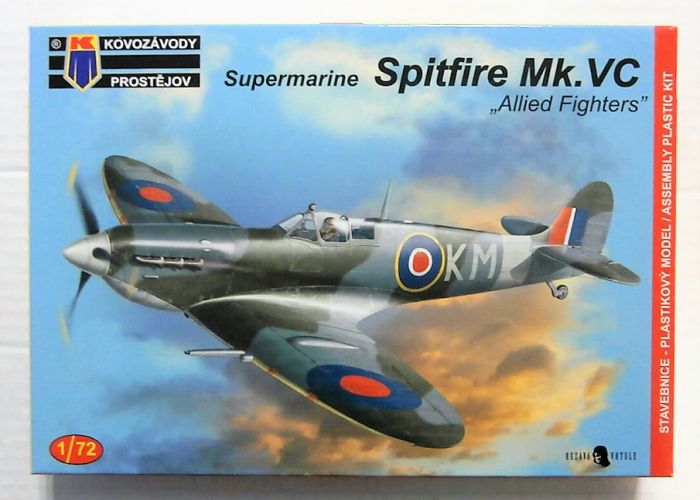 KP 1/72 0124 SUPERMARINE SPITFIRE Mk.VC  ALLIED FIGHTERS