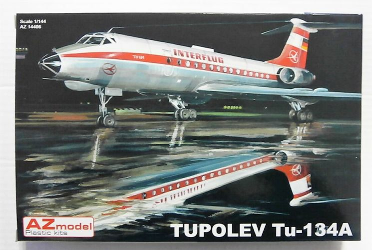 AZ MODEL 1/144 14406 TUPOLEV Tu-134A