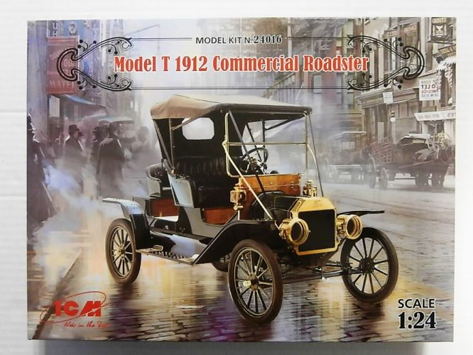 ICM 1/24 24016 MODEL T 1912 COMMERCIAL ROADSTER