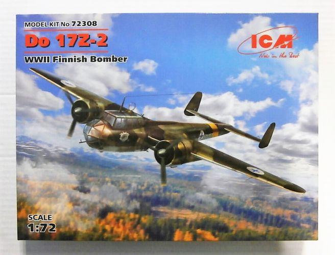 ICM 1/72 72308 Do17Z-2 WWII FINNISH BOMBER