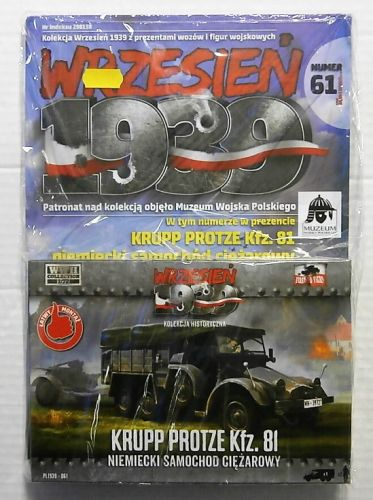 FIRST TO FIGHT 1/72 061 KRUPP PROTZE Kfz. 81