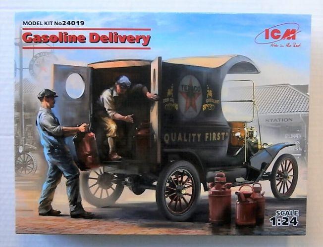 ICM 1/24 24019 GASOLINE DELIVERY