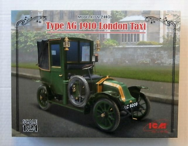 ICM 1/24 24031 TYPE AG 1910 LONDON TAXI