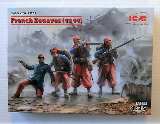 ICM 1/35 35709 FRENCH ZOUAVES 1914