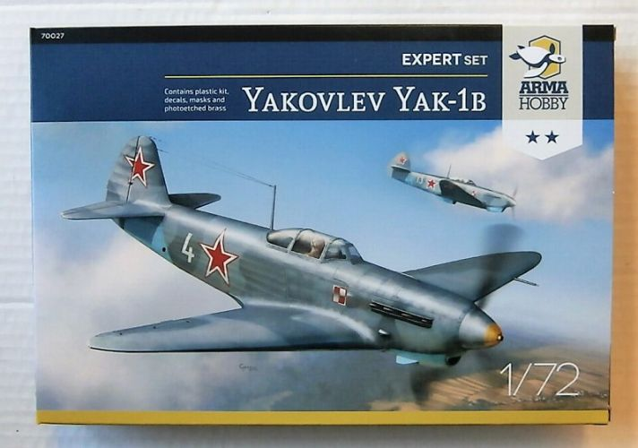 ARMA HOBBY 1/72 70027 YAKOVLEV YAK-1B