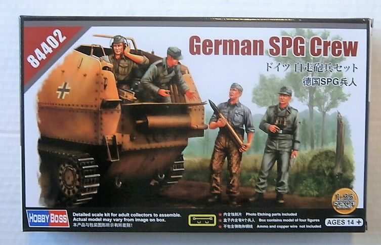 HOBBYBOSS 1/35 84402 GERMAN SPG CREW