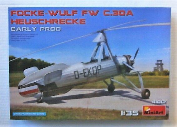 MINIART 1/35 41012 FOCKE-WULF FW C.30A HEUSCHRECKE EARLY PROD