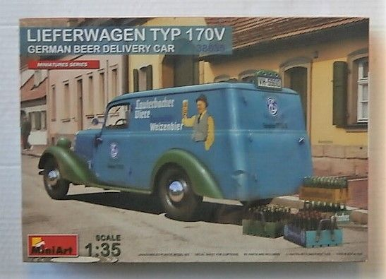 MINIART 1/35 38035 LIEFERWAGEN TYP 170V GERMAN BEER DELIVERY CAR