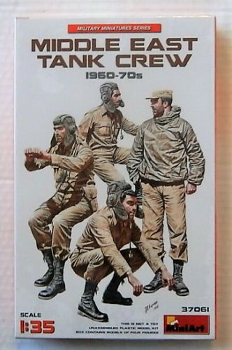 MINIART 1/35 37061 MIDDLE EAST TANK CREW 1960-70S