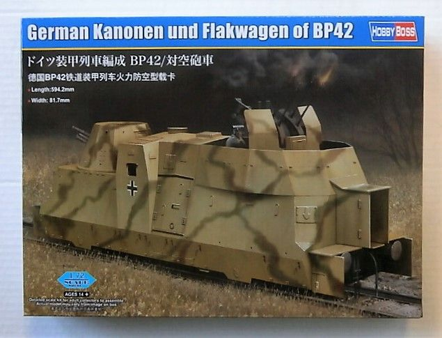 HOBBYBOSS 1/72 82925 GERMAN KANONEN   FLAKWAGEN BP42